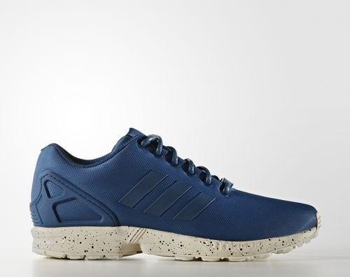 50fd043ce74be adidas ZX Flux tech steel utility blue chalk white (men) (S31518 ...