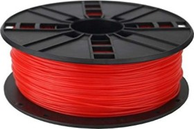 Gembird PLA, fluorescent red, 1.75mm, 1kg (3DP-PLA1.75-01-FR)