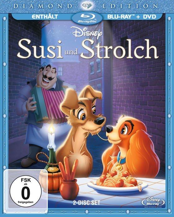 Susi und Strolch (Blu-ray)