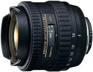 Tokina AT-X 10-17mm 3.5-4.5 AF DX Fisheye für Nikon F schwarz (T4101703)