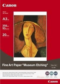 Canon FA-ME1 Fine Art Museum Etching A3+, 350g/m², 20 sheets (1262B007)