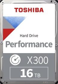 Toshiba X300 Performance 16TB, SATA 6Gb/s, bulk (HDWR31GUZSVA)