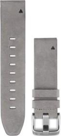 Garmin Ersatzarmband QuickFit 20 Leder grau (010-12491-16)