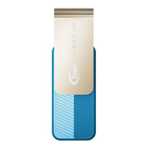 TeamGroup C143 USB-Stick blau 16GB, USB-A 3.0 (TC143316GL01)