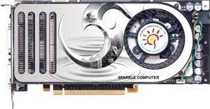 Sparkle GeForce 8800 GTS (G80), 320MB GDDR3, 2x DVI, TV-out, PCIe (SP-PX88GTS)
