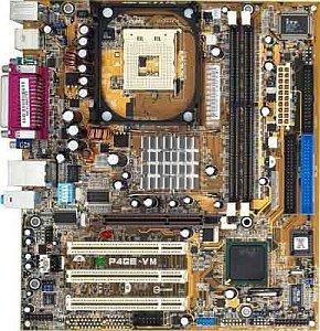 ASUS P4GE-VM, i845PE (PC-2700 DDR)