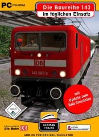 German Trains - Baureihe 143 im täglichen Einsatz (Add-on) (PC)