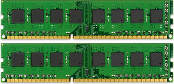 Kingston ValueRAM DIMM Kit  8GB PC3-10667U CL9 (DDR3-1333) (KVR1333D3N9K2/8G)