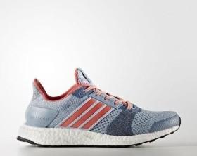 adidas Ultra Boost ST easy blue/haze coral/dark grey heather solid grey (Damen) (BA7835)