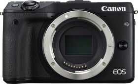 Canon EOS M3 schwarz mit Objektiv Fremdhersteller