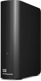 Western Digital WD Elements desktop black 14TB, USB 3.0 micro-B (WDBWLG0140HBK)