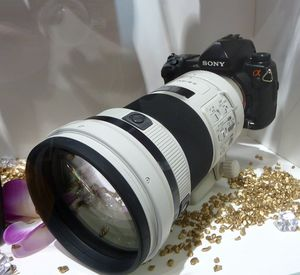 Sony 300mm 2.8G weiß (SAL-300F28G) -- © bepixelung.org