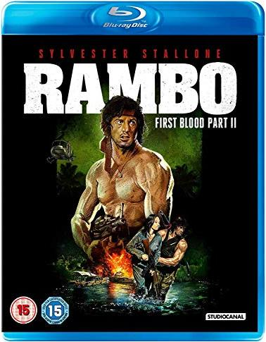 Rambo - First Blood 2 (Blu-ray) (UK) -- via Amazon Partnerprogramm