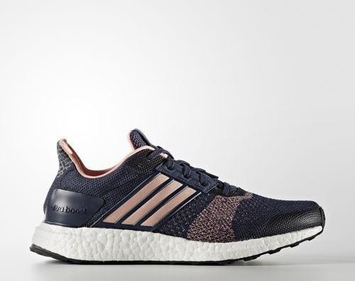 best service 87ed4 37973 adidas Ultra Boost ST midnight greystill breezecollegiate navy (Damen) (