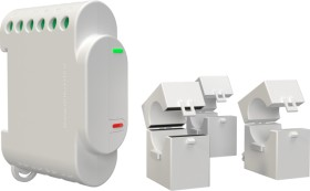 Shelly 3EM 3-Phase WiFi Energy Meter, Strom-/Energiemesser