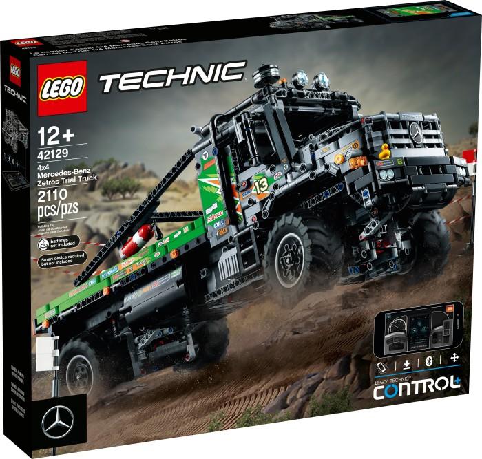 LEGO Technic - 4x4 Mercedes-Benz Zetros Offroad-Truck (42129)