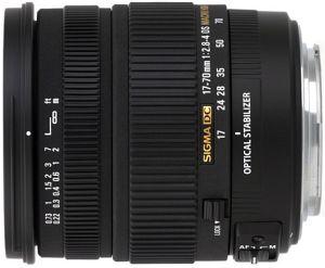Sigma AF 17-70mm 2.8-4.0 DC Asp IF macro OS HSM for Sigma black (668956)