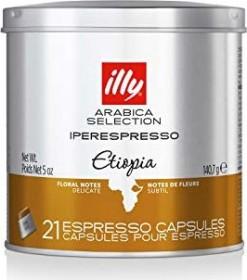 illy Metodo Iperespresso Monoarabica Ethiopia Kaffeekapseln, 21er-Pack