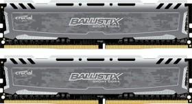 Crucial Ballistix Sport LT grau DIMM Kit 16GB, DDR4-2400, CL16-16-16 (BLS2K8G4D240FSB/BLS2C8G4D240FSB)