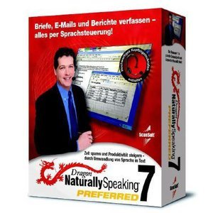 Nuance Dragon NaturallySpeaking Preferred 7.0 + Headset (englisch) (PC)