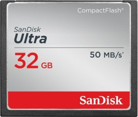SanDisk R50 CompactFlash Card [CF] Ultra 32GB (SDCFHS-032G-G46)