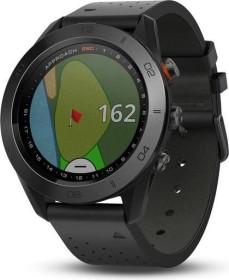 Garmin Approach S60 Leder GPS-Golfuhr schwarz (010-01702-02)