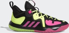 adidas Harden Step Back 2.0 core black/shock pink/team solar yellow (Herren) (GZ2955)