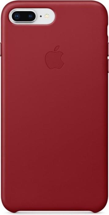 Apple Leder Case für iPhone 8 Plus rot (MQHN2ZM/A)