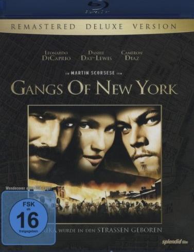 Gangs Of New York (Blu-ray) -- via Amazon Partnerprogramm