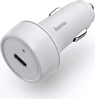 Hama Kfz-Ladegerät Power Delivery (PD)/Qualcomm Quick Charge 3.0 weiß (183278) -- via Amazon Partnerprogramm