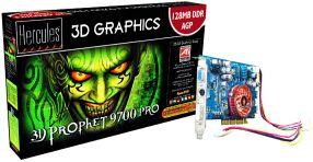 Guillemot Hercules 3D Prophet 9700 Pro, Radeon 9700 Pro, 128MB DDR, DVI, TV-out, retail (4780223)