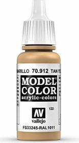 Vallejo Model Color 122 tan yellow (70.912)