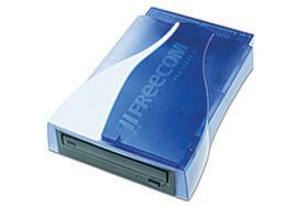 Freecom portable II CD-RW 4x/4x/24x kit with Freecom parallel cable (blue or grey)