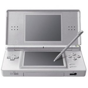 Nintendo DS Lite Basic unit, silver