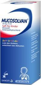 Sanofi-Aventis Mucosolvan Saft für Kinder 15mg/5ml, 100ml