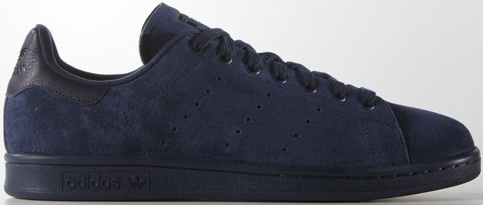 adidas stan smith blau wildleder