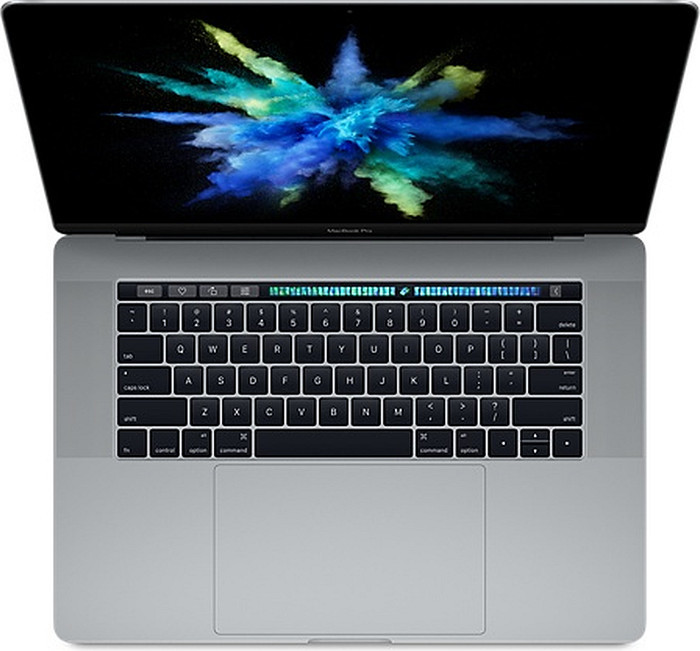 "Apple MacBook Pro 15.4"", Core i7-6700HQ, 16GB RAM, 256GB SSD, Radeon Pro 450, szary (MLH32D/A) (Z0SG) [Late 2016]"