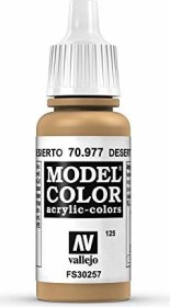 Vallejo Model Color 125 desert yellow (70.977)