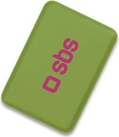 SBS Mobile Compact Power Bank 4000mAh grün (TEPOPBB4000G)