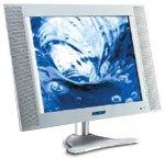 "Gericom 20.1""-TFT wyświetlacz, 640x480, tuner TV, SCART/FBAS/S-VHS/VGA/RCA, Audio"