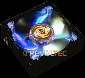 Revoltec aluminum Frame Blue, 80mm (RL031)