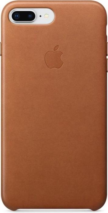 Apple Leder Case für iPhone 8 Plus sattelbraun (MQHK2ZM/A)