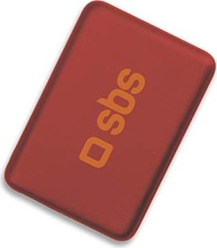 SBS Mobile Compact Power Bank 4000mAh rot (TEPOPBB4000R)