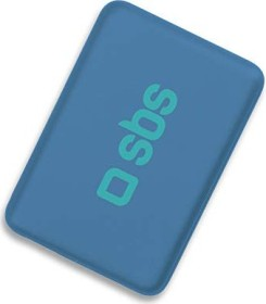SBS Mobile Compact Power Bank 4000mAh blau (TEPOPBB4000B)