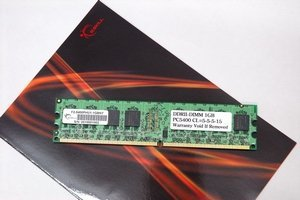 G.Skill DIMM 1GB PC2-5300U CL5 (DDR2-667) (F2-5400PHU1-1GBNT)