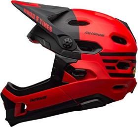 Bell Super DH MIPS Fullface-Helm matte red/black