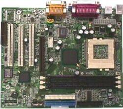 MSI MS-6334 815M Pro, Solano 815EP, µATX