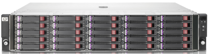 HP StorageWorks D2700 3.6TB, 2HE (AW524A)