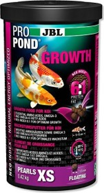 JBL ProPond Growth Pearls XS growth food for very small koi fish, 1000ml (4135700)