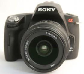 Sony Alpha 290 schwarz mit Objektiv AF 18-55mm 3.5-5.6 DT SAM (DSLR-A290L)
